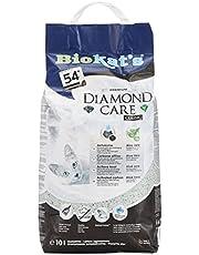 Biokat's Diamond Care Classic, para gatos, sin fragancia - Arena fina con carbón activo y aloe vera 1 saco (1 x 10 l)
