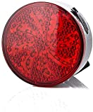 SAFGH Luz Trasera para Bicicleta, luz Recargable por USB para Bicicleta, Luces traseras Intermitentes para conducción Nocturna, luz de Freno, señal de Giro, luz de Parada, Luces de Advertencia