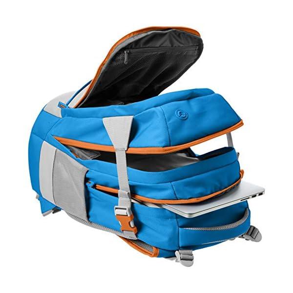51jyM8MixcL. SS600  - AmazonBasics - Mochila ergonómica (azul, 30 litros)