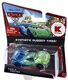 Disney / Pixar Cars Cars 2 Synthetic Rubber Tires Carla Veloso Exclusive Diecast Car