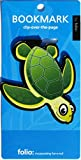Turtle Bookmarks (Clip-Over-The-Page) Set of 2 - Assorted Colors