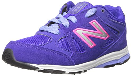 New Balance New Balance KJ888V1 Infant Running Shoe (Infant/Toddler), Purple/Pink, 17 M EU