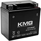 KMG YTZ7S Battery Compatible with Honda 50 NPS50 Ruckus 2003-2014 Sealed Maintenance Free 12V Battery High Performance SMF Replacement Powersport Motorcycle ATV Scooter Snowmobile Watercraft