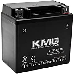 Battery Family: High Performance, Sealed Maintenance Free (SMF) Voltage: 12 Volts Polarity: [ - ]--------[ + ] Brand: KMG | Battery Type Number: YTZ7S Dimensions: 113mm x 70mm x 105mm