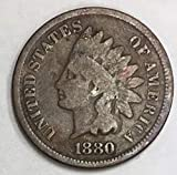 1880 Indian Head Penny 1c Good