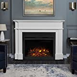 Real Flame White 8060E Harlan Grand Electric Fireplace, Large