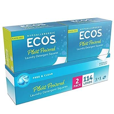 ECOSNext? Liquidless Laundry Detergent Squares