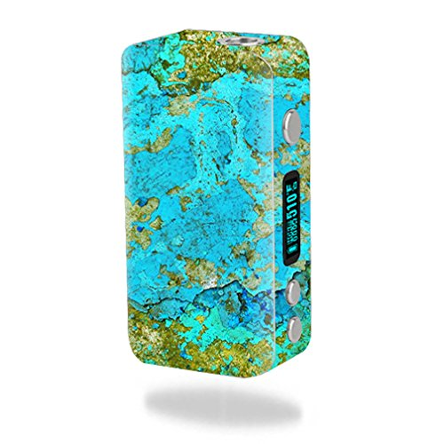 MightySkins Skin Compatible with Smok Koopor Plus 200W – Teal Marble   Protective, Durable, and Unique Vinyl Decal wrap Cover   Easy to Apply, Remove, and Change Styles   Made in The USA
