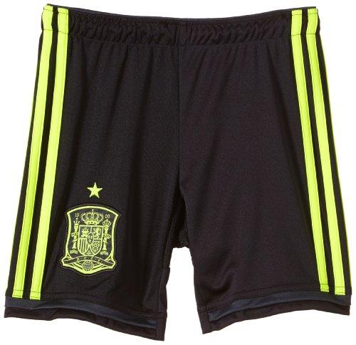 adidas Kinder Kurze Hose FEF Away Shorts Youth, Black/Electr/Dshale, 128