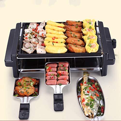 GGG Elektrische kookplaat, grill, business en commercial, grillmachine, geen rook, dubbele laag, elektrische grill