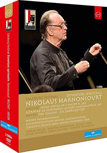 Salzburg Festival 2012/13 - Ouverture Spirituelle - Nikolaus Harnoncourt [2 DVDs]