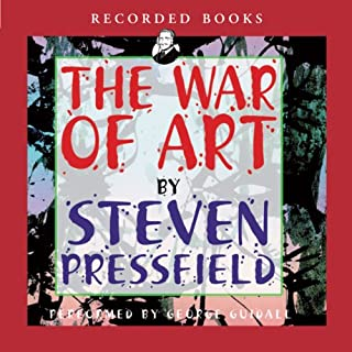 The War of Art     Winning the Inner Creative Battle              By:                                                                                                                                 Steven Pressfield                               Narrated by:                                                                                                                                 George Guidall                      Length: 2 hrs and 54 mins     10,849 ratings     Overall 4.6