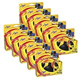 Novocolor – Disposable Cameras with Flash (27 Exposures with Flash) Pack of 10