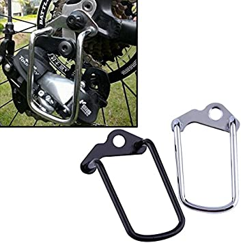 Outdoor Bike MTB Rear Gear Derailleur Protector Chain Stay Bicycle Guard E6E8