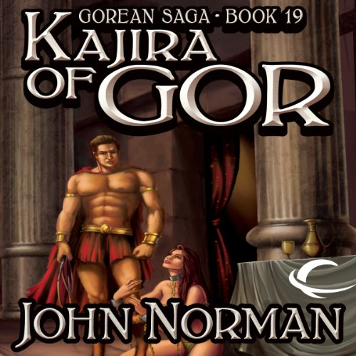 Kajira of Gor audiobook cover art