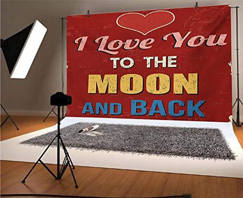 I Love You - Fondo de vinilo para fotos (10 x 6,5...