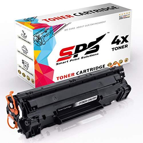 SPS 9435B002 CRG737 4er Toner Set kompatibel für Canon iSENSYS MF210 Series MF212w MF216n MF217w MF220 Series MF226dn MF227dw MF229dw MF230Series MF231 MF232w MF236n MF237w MF240 MF249dw LBP151dw