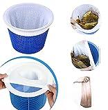 Youpin 6 Stücke Pool Skimmer Socken, Skimmer Filter Netz für Schwimmbad Korb, Schwimmbad Pool Zubehör für Schlacken, Blätter, Abschaum, Entfernt Schlacken, Pollen,Insekten