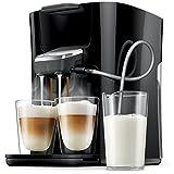 Die patentierte Duo Latte Funktion ermöglicht die Zubereitung von 2 Kaffeespezialitäten gleichzeitig - mit nur 1Knopfdruck! Individuell einstellbare Kaffeestärke: mild und normal 6 voreingestellte Rezepte: genießen Sie SENSEO Cappuccino, Latte Macchi...