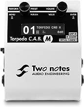 Two Notes Torpedo C.A.B. Meters Speaker Simulator Pedal