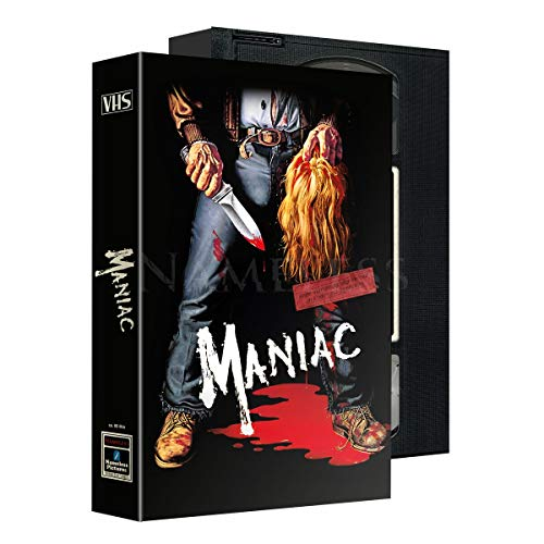 Maniac - Limited Uncut VHS Schuber Edition - 8 Disc 500 Stk. - UHD - DVD - Blu-ray + Soundtrack