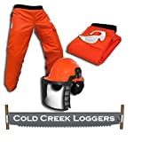 Cold Creek Loggers Professional Forestry Cutter's Combo Kit (35 Inches)