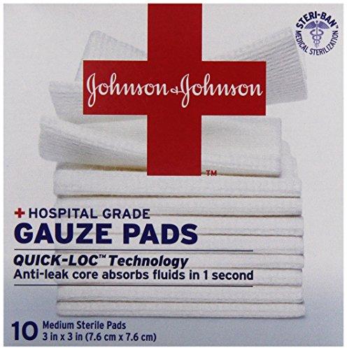 Johnson & Johnson Pad Gauze 3