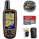Garmin GPSMAP 64s Worldwide Handheld GPS with 1 Year Birdseye...
