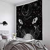 Brandless Tapiz de Tarot Ángel en el Cielo Tapices de Feliz Navidad Tapices para Dormitorio Sala de Estar Decoración de Dormitorio (95x73cm)