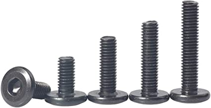 100 tornillos de 3 x 30 mm de todo rosca IROX de acero galvanizado negro cabeza cruz Pozidriv PZD plana desalojada tornillo para madera y aglomerado 3 x 30 aglomerados