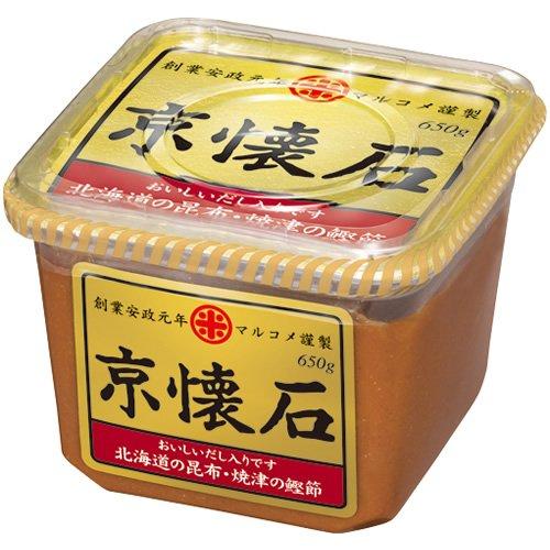 マルコメ 京懐石 だし入り味噌 北海道の昆布・焼津の鰹節 650g