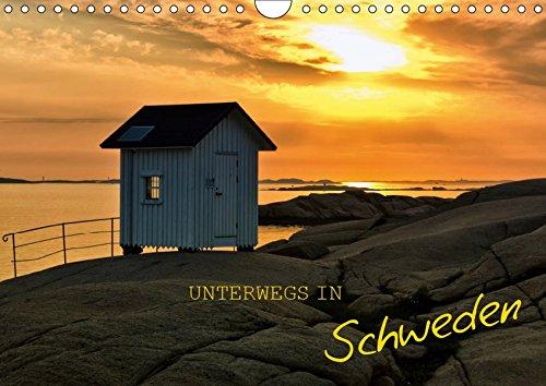 Unterwegs in Schweden (Wandkalender 2019 DIN A4 quer): Schweden hautnah erleben (Geburtstagskalender, 14 Seiten ) (CALVENDO Orte)