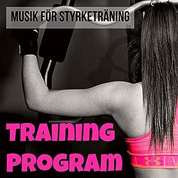 Training Program - Aerob Techno House Electro Musik för Styrketräning