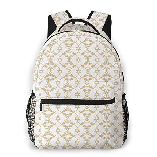 Backpack for Boys Girls Teen, Ivory 15 Travel Laptop Backpacks School Bag College Bookbag Daypack