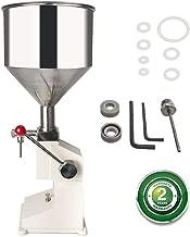 Manual Liquid Filling Machine 5-50ml Bottle Filler Adjustable Bottle Filling Machine Filler A03