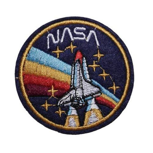 NASA Meatball Embroidered Patch 11cm x 7.5cm approx