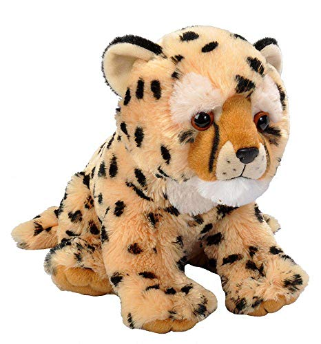 Wild Republic Cheetah Cub Plush, Stuffed Animal, Plush Toy, Gifts for Kids, Cuddlekins 12'