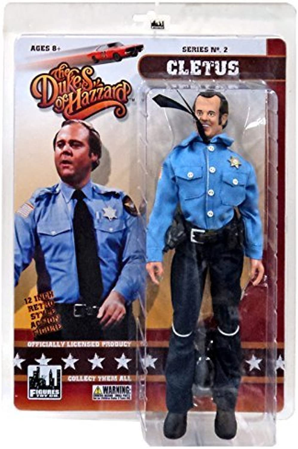 The Dukes of Hazzard Series 2 Cletus 12 Action Figure [12] by Dukes of Hazzard
