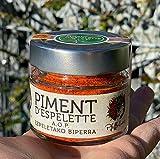 Piment d´Espelette AOP original 40g im Glas - Chili mit fruchtiger & dezenter Schärfe NEUE ERNTE 2020