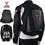 MotoCentric Motorcycle Leather Backpack