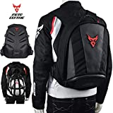 Best Motorcycle Backpacks - MotoCentric Motorcycle Leather Waterproof Backpack Riding Laptop Helmet Review