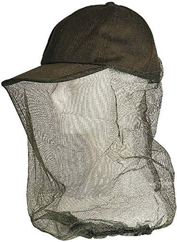 Hut mit Insektenschutznetz