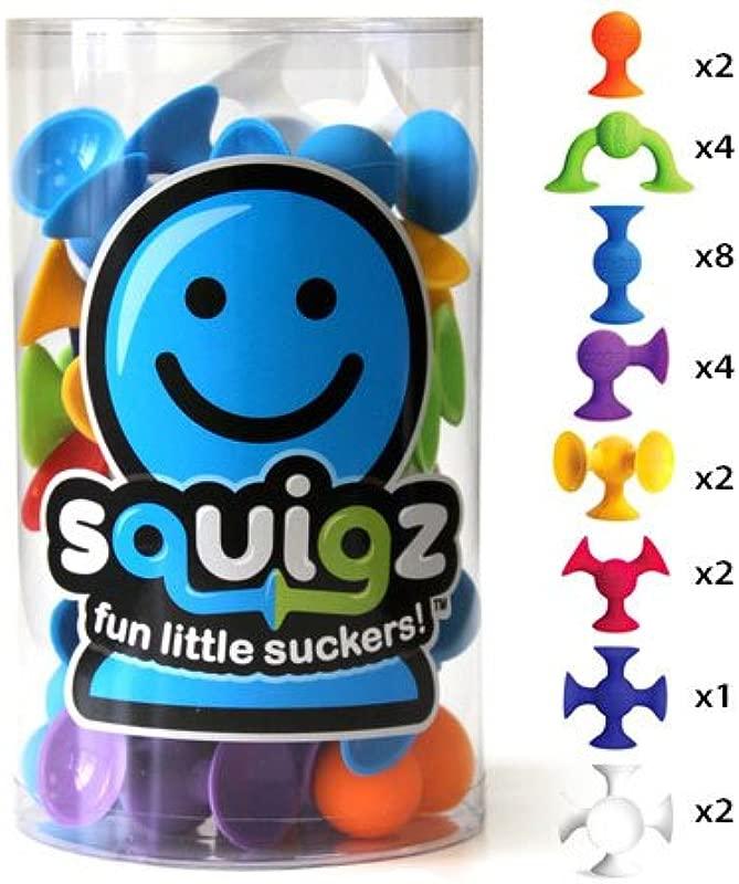 Fat Brain Toys Squigz Starter Set 24 Piece