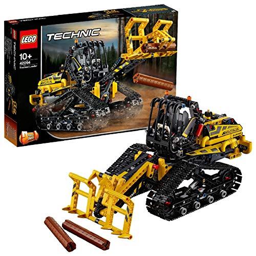 LEGO Technic - Cargadora con Orugas, maqueta de juguete de construcción 2 en 1 con detalles y brazo que se mueve de verdad (42094)