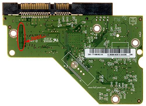 WD20EARS-00MVWB0, 2061-771698-802 08P, WD SATA 3.5 Leiterplatte (PCB)