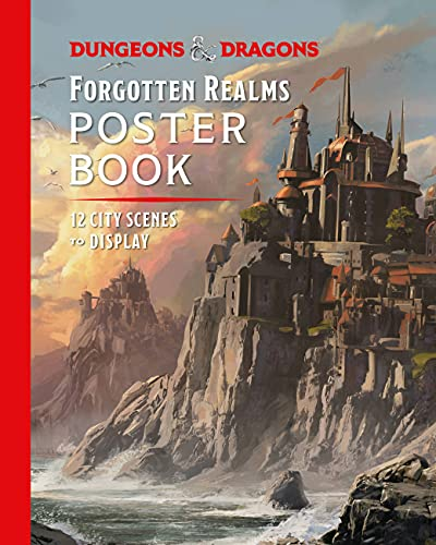 Dungeons & Dragons Forgotten Realms Poster Book