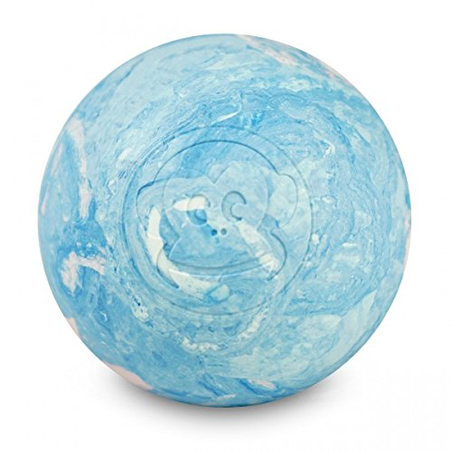 Captain Lax lacrosse ball white, pink and light blu