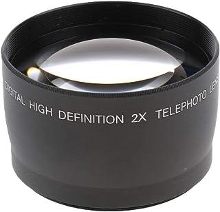 58mm 2X Telephoto Lens Tele Converter for Canon Nikon Sony Pentax 18-55mm