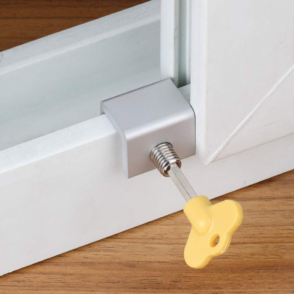 DOITOOL 6 piezas deslizante de bloqueo de seguridad marco de la ...