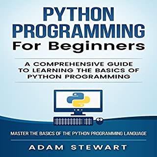 Python Programming for Beginners audiobook cover art